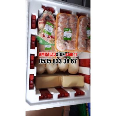 115 Litre Dışı Pvc Kaplı Eps Strafor Köpük Termos Gıda Kolisi