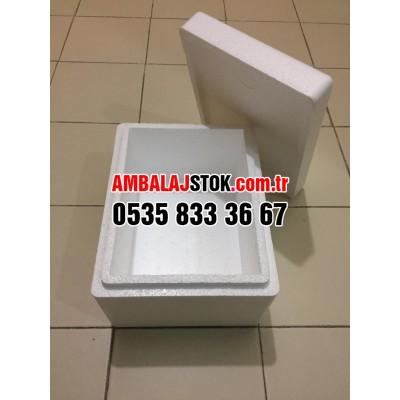 1 paket 72 adet 1.5 kg Çok amaçlı Eps Strafor köpük termos Gıda Taşıma kutusu