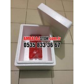 1,5 Kg Eps strafor köpükDonuk ve soğuk zincir Taşıma kutusu kabı