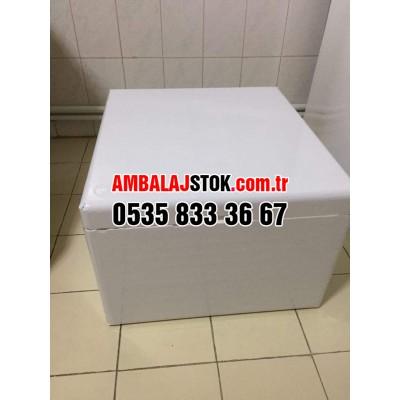 20 Kg Cepli Kalın Eps strafor Köpük termos Gıda Taşıma kutusu