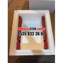 20 Kg Kalın Eps strafor Termos Gıda Taşıma kutusu