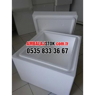 24 kg Kalın Eps Strafor Köpük Termos Gıda Taşıma kutusu