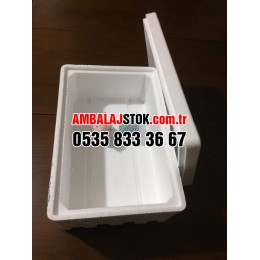 3 Kg Eps Strafor Köpük Termos Gıda Taşıma kutusu
