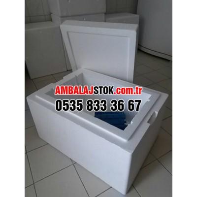 34 Litre Kalın Eps strafor köpük termos Gıda Taşıma kutusu